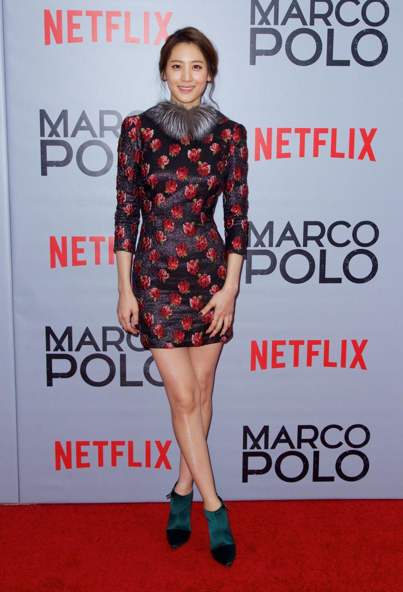 Claudia Kim Marco Polo