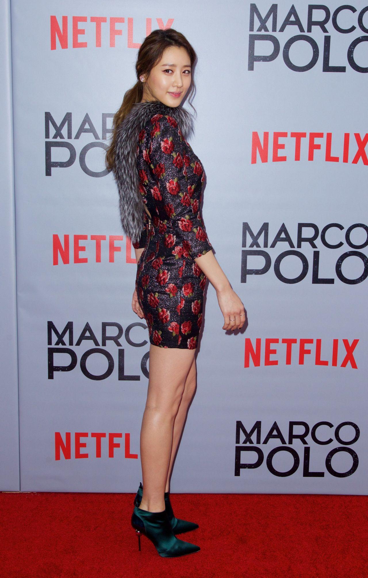 Claudia Kim Marco Polo Tv Series Premiere In New York City
