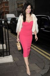 Daisy Lowe - GQ Christmas Lunch at Quaglino