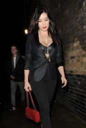 Daisy Lowe Night Out  Style - at the Chiltern Firehouse in London - December 2014