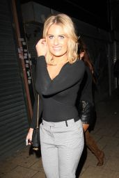 Danielle Armstrong Night Out Style - December 2014