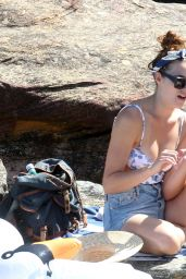 Demi Harman in a Swimsuit at a Beach in Sydney - November 2014