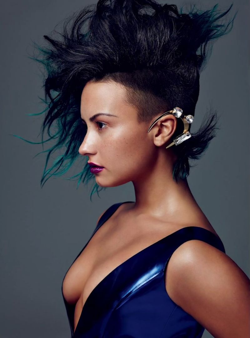 Demi Lovato - Allure Magazine Photoshoot - December 2014