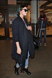 Demi Lovato - at LAX Airport, November 2014