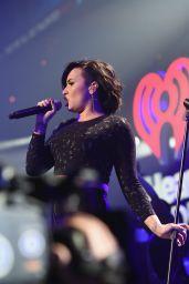Demi Lovato - HOT 99.5's Jingle Ball 2014 in Washington, D.C.