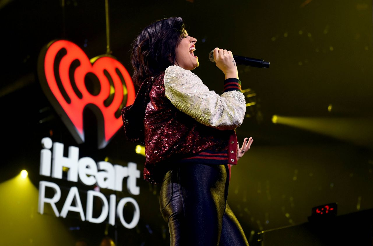 Demi Lovato Performing at 101.3 KDWB