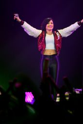 Demi Lovato Performs at 101.3 KDWB