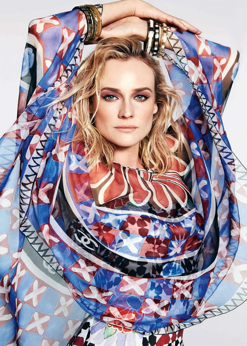 Diane Kruger - Photoshoot for Harper