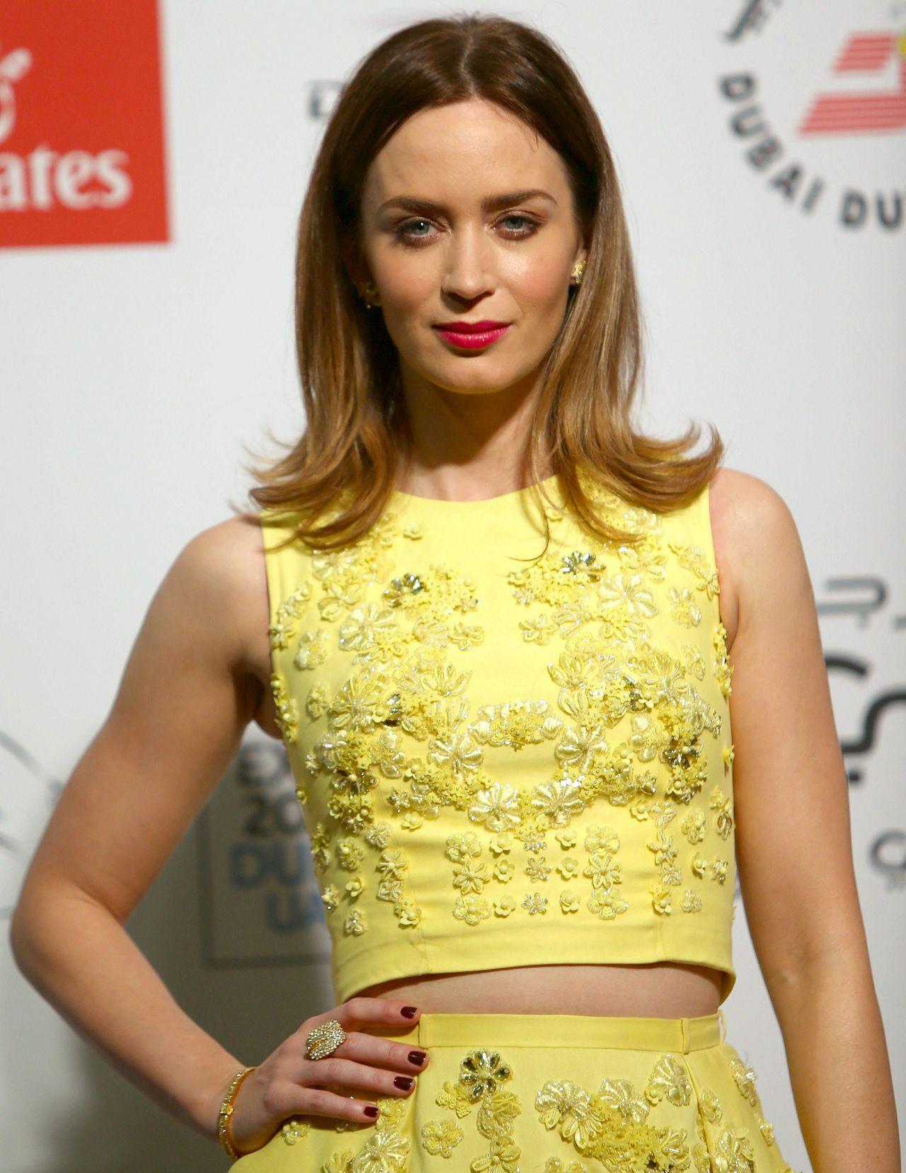 Emily Blunt - 2014 Dubai International Film Festival - Opening Night