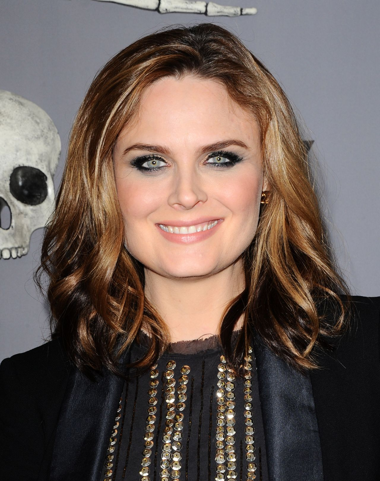Emily Deschanel Bones 200th Episode Celebration In