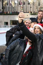 Emily Osment – ABC's 25 Days Of Christmas Celebration in NYC – December 2014