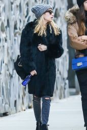 Emma Roberts - Out With Friends in New York City - December 2014