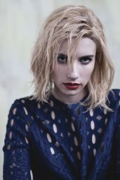 Emma Roberts - Photoshoot for Wild Magazine, December 2014