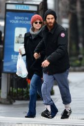 Emma Stone - Out in New York City - December 2014