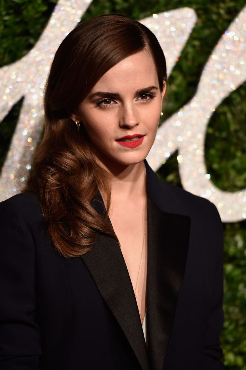 Emma Watson 2014 British Fashion Awards In London