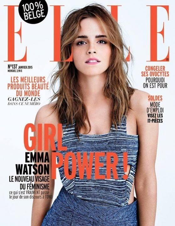 Emma Watson - Elle Magazine Cover (Belgium) January 2015