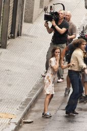 Emma Watson -Shooting scenes in Buenos Aires for the film