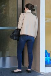 Emmy Rossum Booty in Jeans - Out in West Hollywood - December 2014