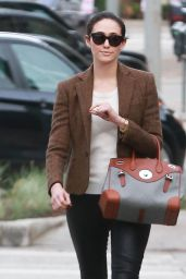 Emmy Rossum Style - Out in Los Angeles, December 2014