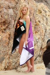 Erin Heatherton in a Swimsuit - Photoshoot in Malibu, December 2014