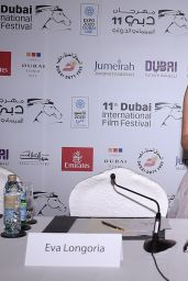 Eva Longoria - Global Gift Gala Press Conference in Dubai - December 2014