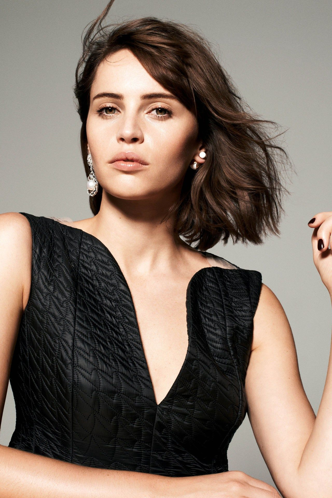 Felicity Jones - Photoshoot for Tatler Magazine - January 2015