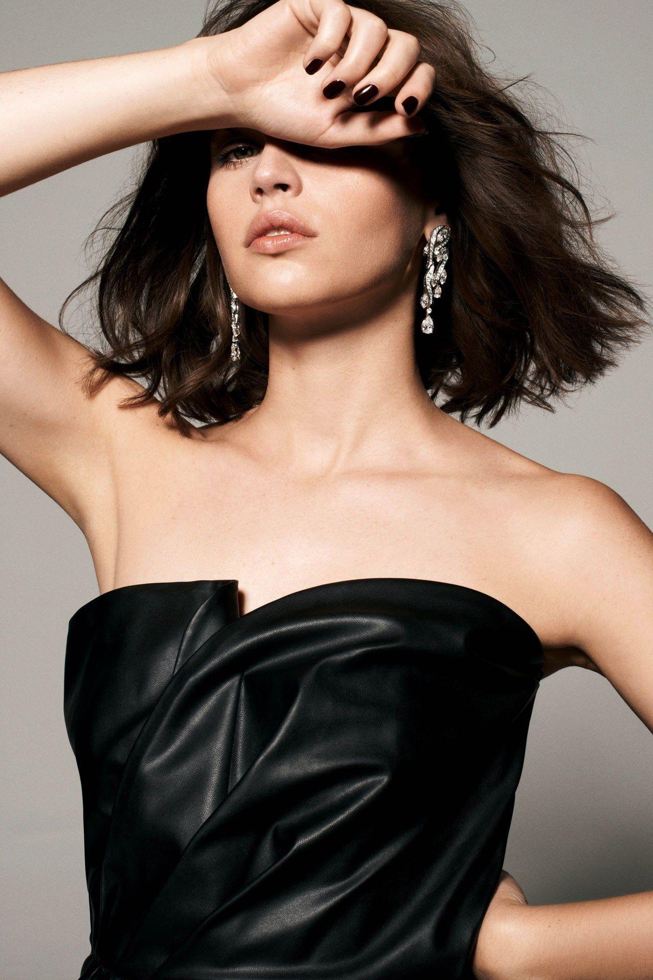 Felicity Jones - Photoshoot for Tatler Magazine - January 2015