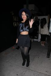 Francia Raisa Night Out Style - Out in West Hollywood, November 2014