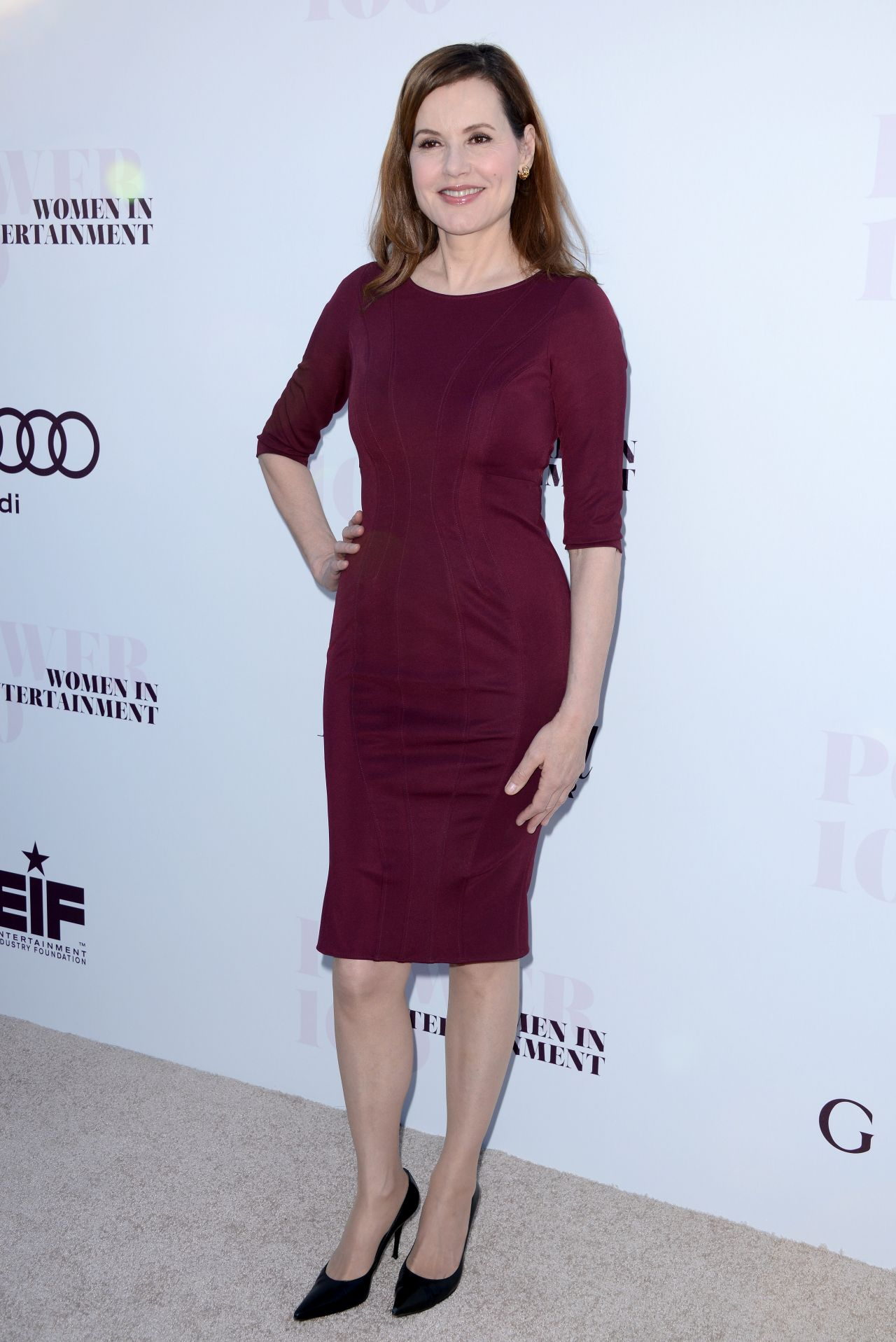 Geena Davis 2014 Thr S Women In Entertainment Breakfast In Los Angeles