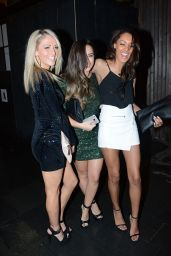 Georgia May Foote Night Out Style - Out in Manchester, Dec. 2014