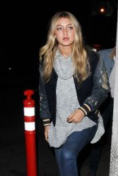 Gigi Hadid Nigh Out Style - Leaving the Roxy in West Hollywood - Dec. 2014