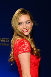 Greer Grammer - 2014 Golden Globe Awards Nominations in Los Angeles
