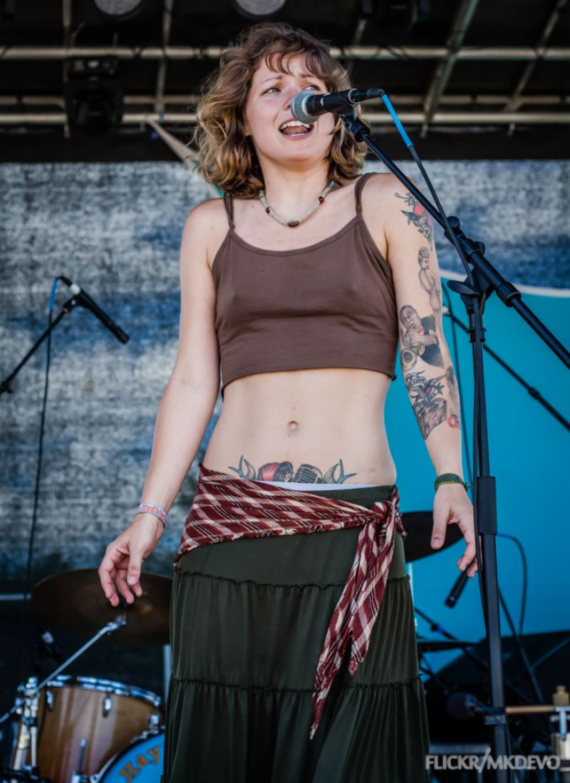 Hayley Jane Performs At Disc Jam Music Festival 2014