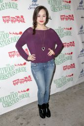 Hayley Orrantia – 2014 Hollywood Christmas Parade in Hollywood