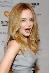 Heather Graham – 2014 Gotham Independent Film Awards in New York City