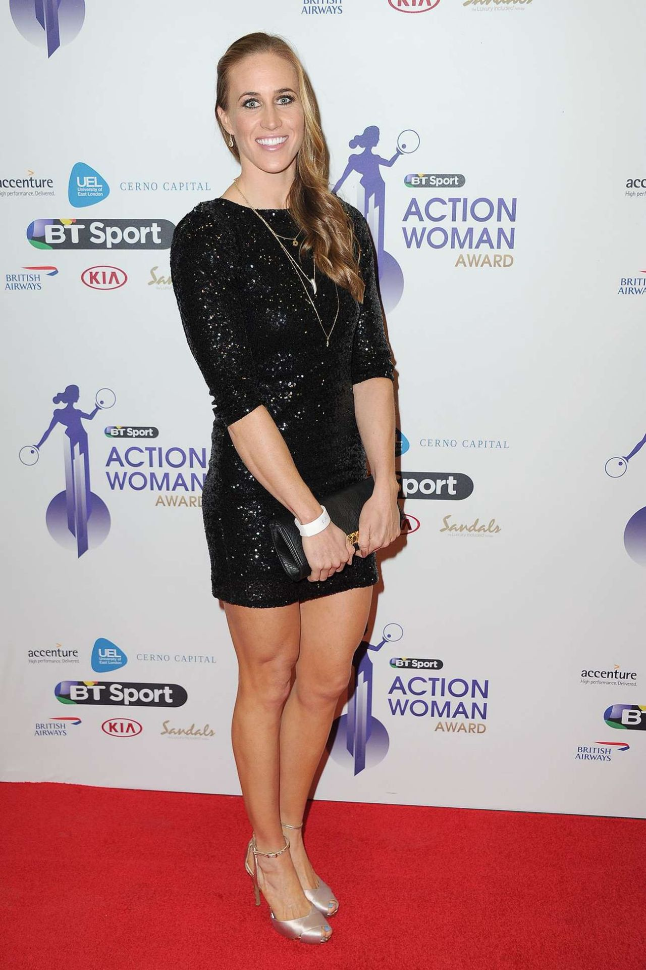 Helen Glover – 2014 BT Sport Action Woman Awards in London