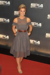 Helen Skelton on Red Carpet - BBC Sports Personality of the Year Awards 2014 in Glasgow