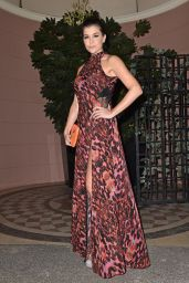Imogen Thomas Style - Kensington Christmas 2014 Party at Bombay Brasserie in London