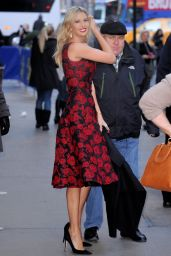 Ivanka Trump Style - Arriving to Appear on