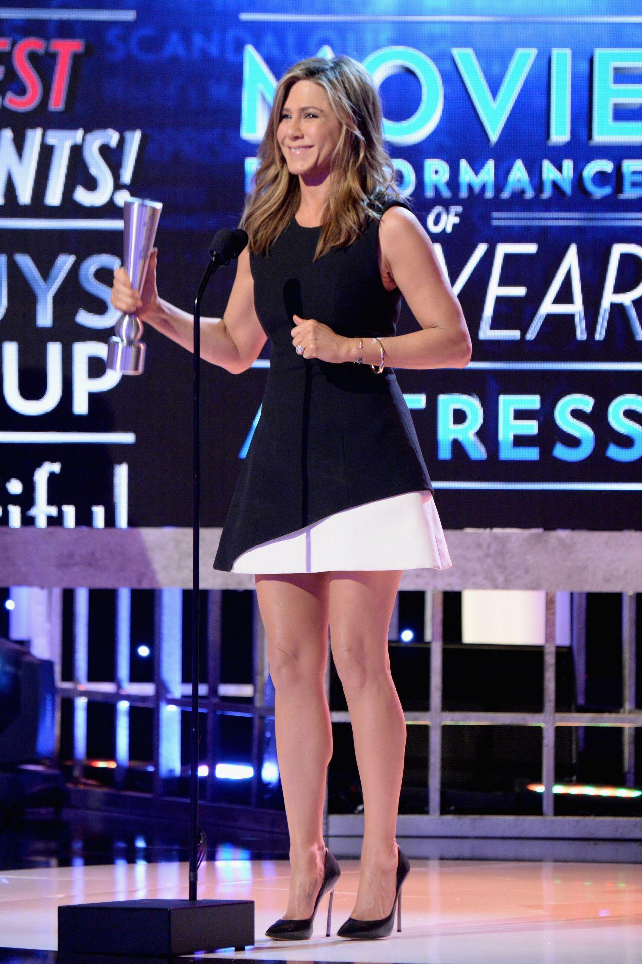 Jennifer Aniston 2014 People Magazine Awards In Beverly