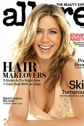 Jennifer Aniston - Allure Magazine January 2015 Cover and Photos