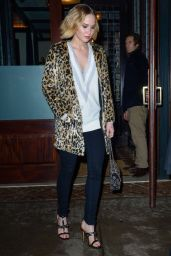 Jennifer Lawrence Night Out Style - New York City, December 2014