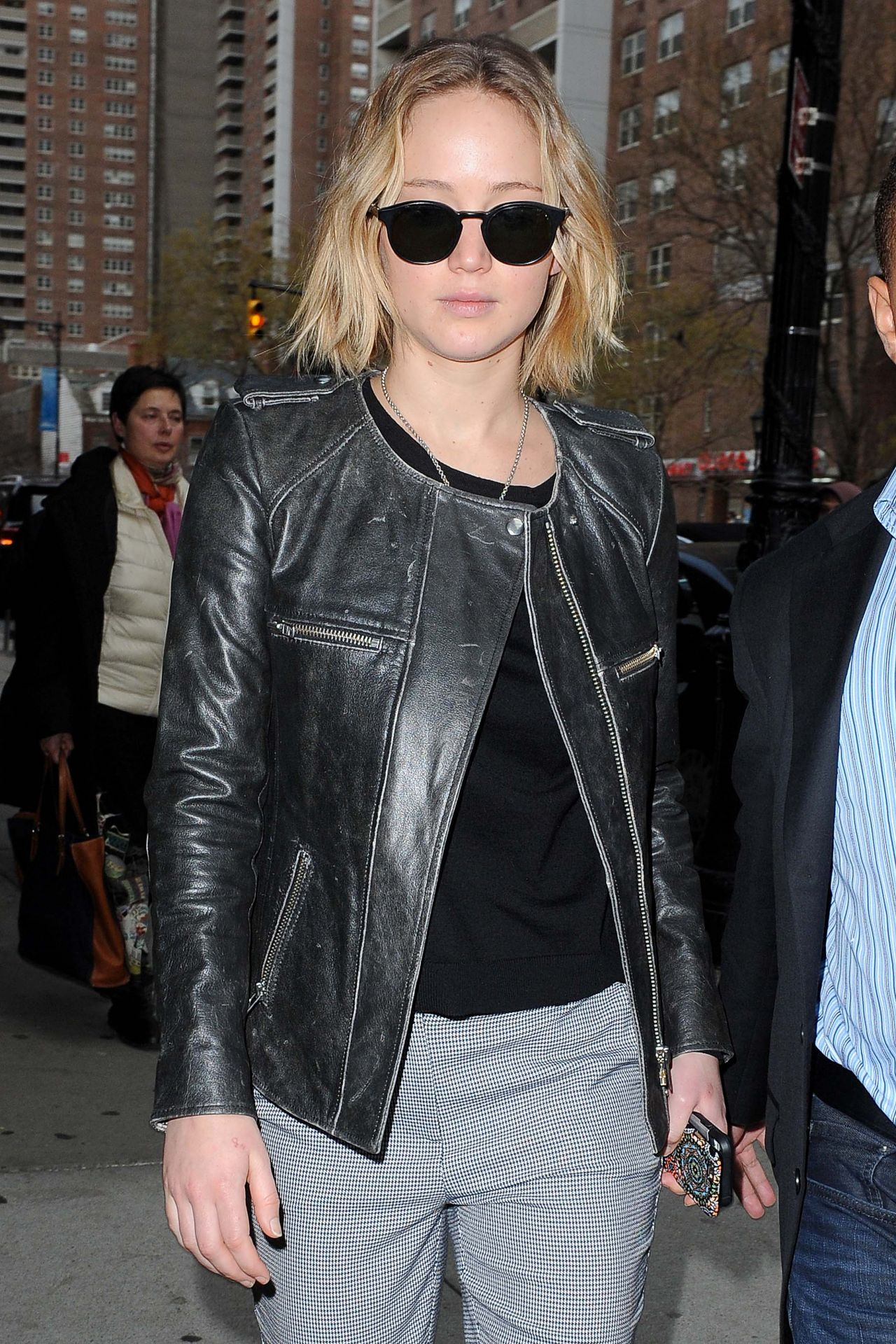 Jennifer Lawrence Style - Out in New York City - December 2014