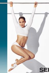 Jennifer Lopez in Bodysuit - Self Magazine January 2015 Issue