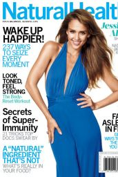 Jessica Alba - Natural Health Magazine January/February 2015