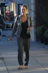 Jessica Alba - Out in Los Angeles, December 2014