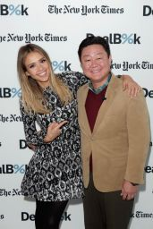 Jessica Alba - The New York Times DealBook Conference in New York City - Dec. 2014