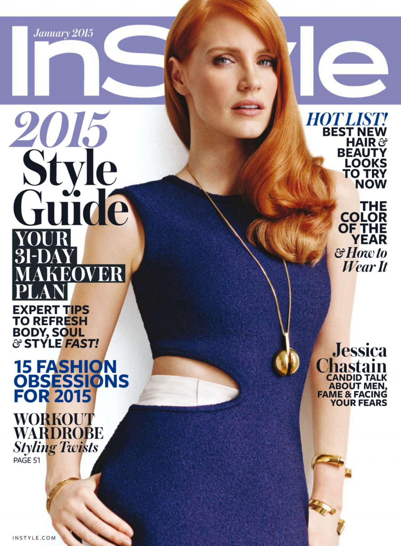 Instyle Magazine Us: January 2015 Issue