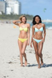 Jessica Hart and Gracie Carvalho in Bikinis - Photoshoot 2014