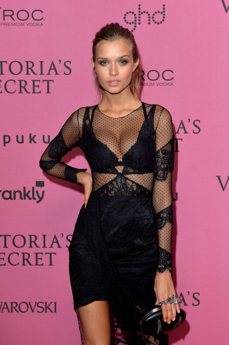 Josephine Skriver – 2014 Victoria's Secret Fashion Show in London – After Party
